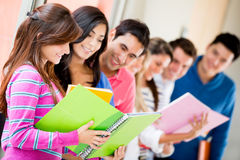 Uninversity students Royalty Free Stock Images