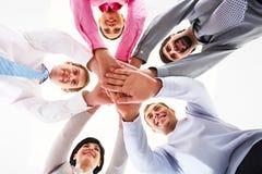 União do negócio Imagem de Stock