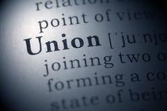 Union photographie stock libre de droits