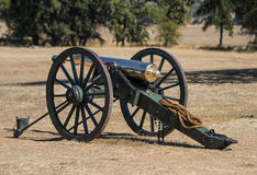 Union Army Brass Cannon Royalty Free Stock Photography