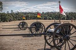 Union Army Caissons Stock Photos