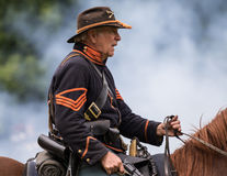 Union Army Scout Royalty Free Stock Photography