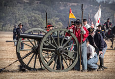 Union Artillery Royalty Free Stock Images