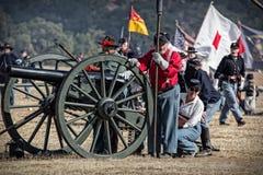 Union Artillery Stock Image