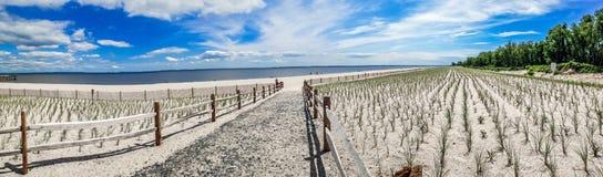 Union Beach Panorama Royalty Free Stock Photos