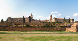 Union Buildings. Panorama of Union Buildings in Pretoria, South Africa royalty free stock image