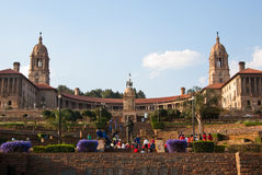 Union Buildings. In Pretoria in springtime Stock Images