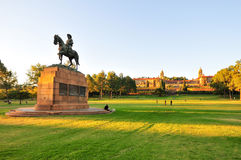 Union Buildings, Pretoria at Sunset Stock Photography