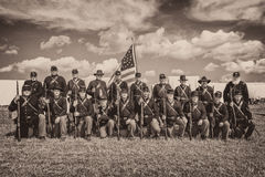Union camp Royalty Free Stock Photo