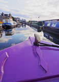 Union Canal in Edinburgh Stock Image
