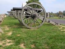 Union Canons-Gettysburg Stock Photo