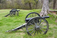 Union Canons Stock Photography