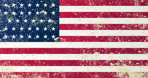 Union Civil War Flag Royalty Free Stock Images