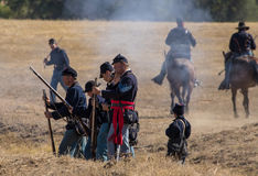 Union in Combat Stock Images