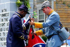 Union and Confederate Soldiers Stock Photos
