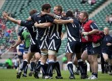Union de rugby : Armée contre la marine Photographie stock