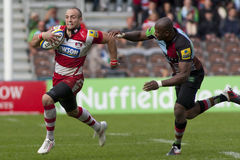 2011 union de rugby d'Aviva Premiership, harlequins v Gloucester, septembre Photo stock