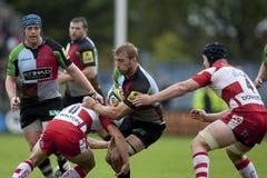 2011 union de rugby d'Aviva Premiership, harlequins v Gloucester, septembre Images stock