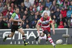 2011 union de rugby d'Aviva Premiership, harlequins v Gloucester, septembre Photographie stock libre de droits