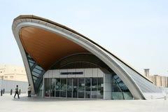 Union de station de métro de Dubaï Image stock