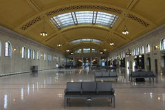 Union Depot. SAINT PAUL - AUGUST 11:  The historic Saint Paul Union Depot railroad station, as seen on August 11, 2014, in St. Paul Royalty Free Stock Photos