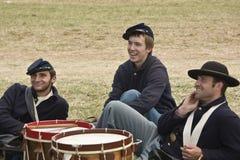 Union Drummer Boys royalty free stock photos