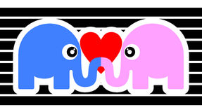 Union elephant Royalty Free Stock Photo