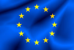 union européenne d'indicateur illustration de vecteur