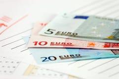Union européenne de devise Photographie stock