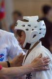 Union européenne KWU du monde de Kyokushin de championnat pour les enfants et la jeunesse 2017 Images stock