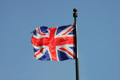 Union flag of Great Britain Stock Photo