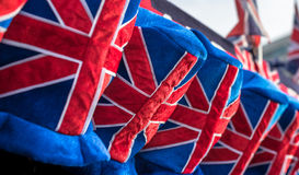 Union Flag Hats Royalty Free Stock Photography