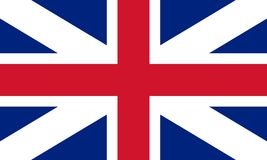 Union flag (jack) 1606 Royalty Free Stock Photos