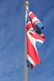 Union Flag slight movement in wind Stock Photo