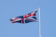 The Union Flag. UK. Union Jack, the national flag of the United Kingdom which comprises, England,Scotland,Wales and Northern Ireland Royalty Free Stock Photo