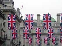 Union Flags Royalty Free Stock Photo