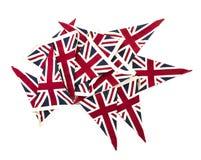 union för buntingflaggastålar Royaltyfria Bilder