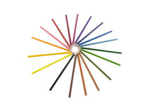 Union group presented by pencil color. Union group was presented by pencil color Stock Image