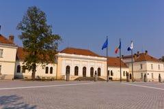 Union Hall building in Alba Iulia Romania Stock Photos