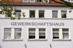 Union hall Landshut Stock Photography