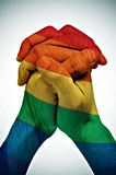 Union homosexuelle Photographie stock