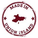 Union Island seal. Royalty Free Stock Photos