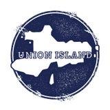 Union Island vector map. Stock Photography