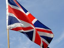 Union Jack. The national flag of Great Britain Royalty Free Stock Photos