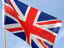 Union Jack. Flag of Great Britain royalty free stock images