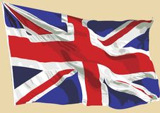 Union jack 02 Stock Photos