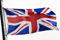 Union Jack illustration stock