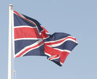 Union Jack. The British flag Royalty Free Stock Photo