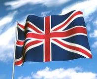 Union jack. British flag Royalty Free Stock Image