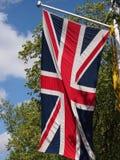 Union Jack Stockbild